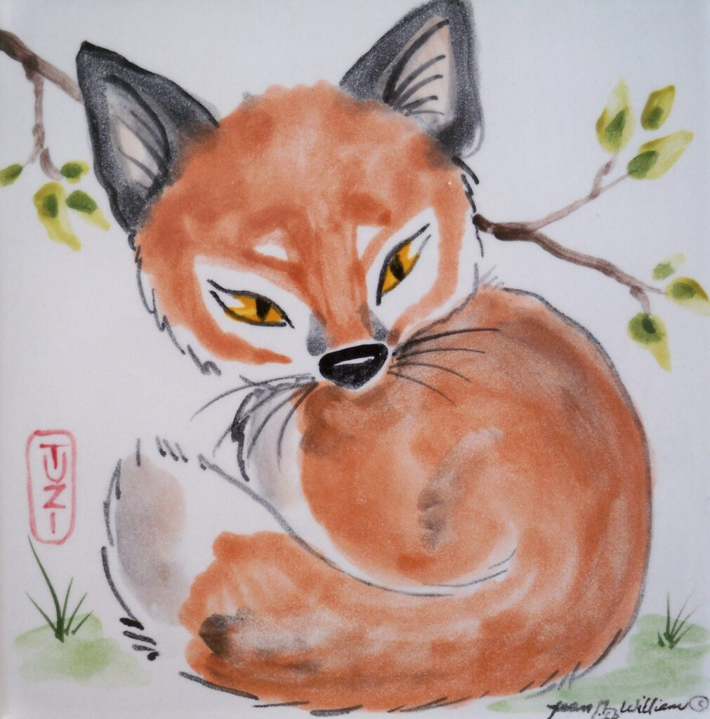 tuzi williams, tile, fox