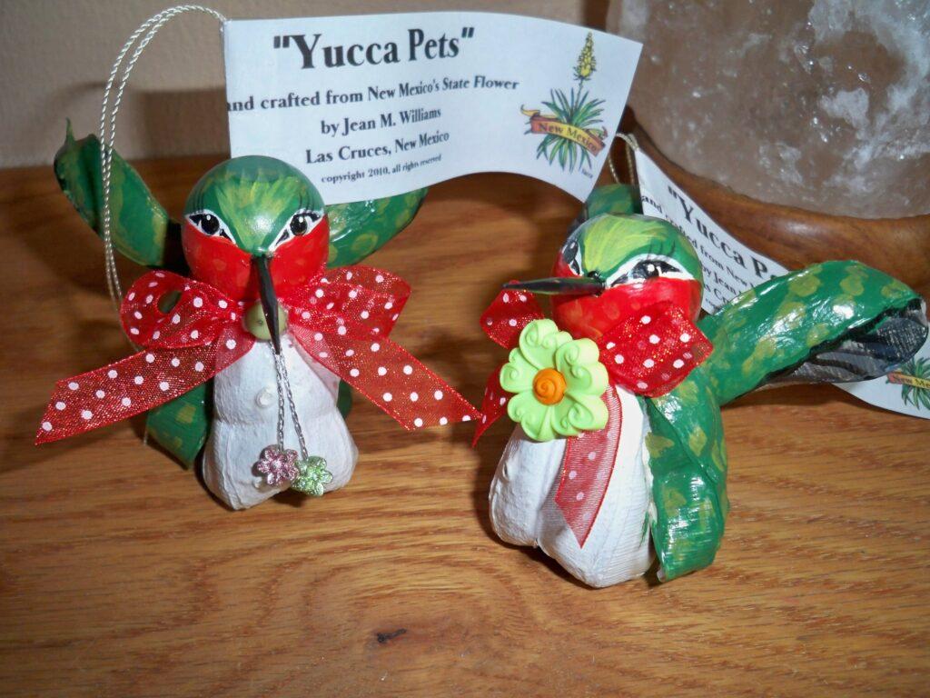 yucca pets, hummingbird, tuzi williams