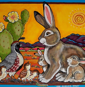 Tuzi williams, rabbit, quail, southwest