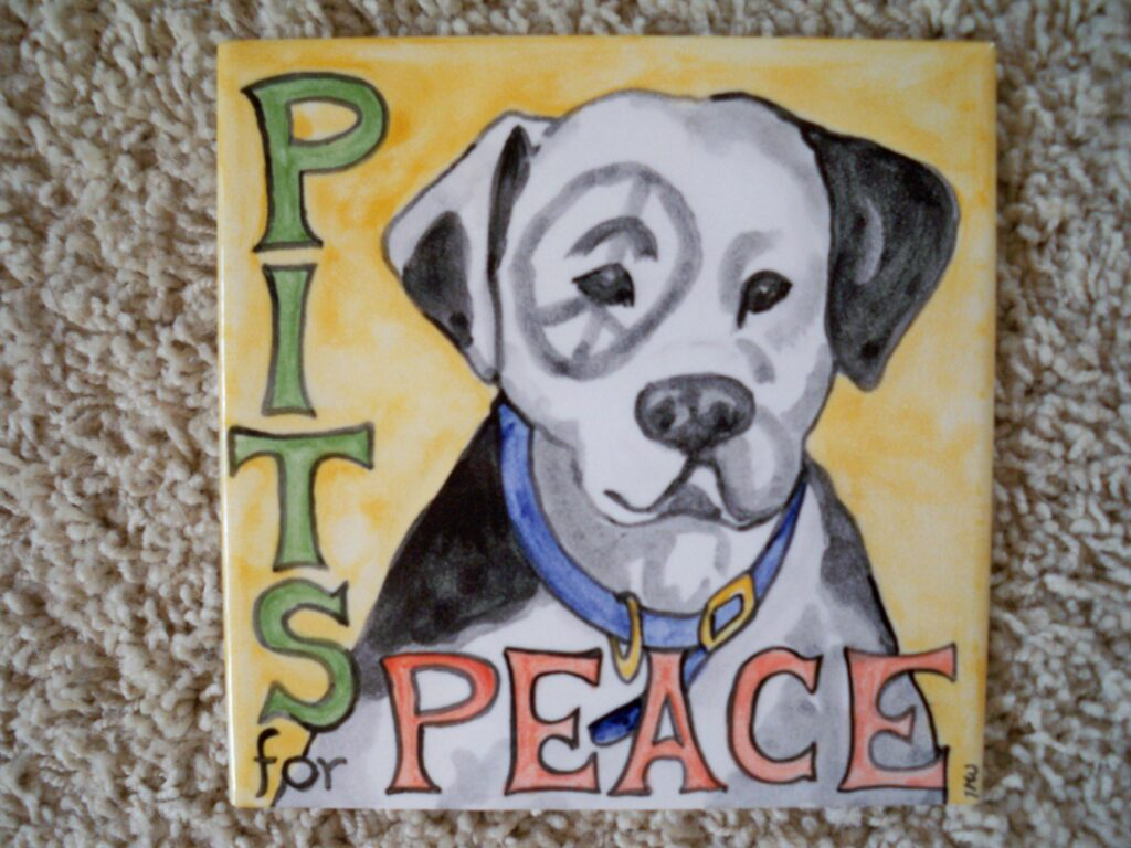 tuzi williams tile, pit bull