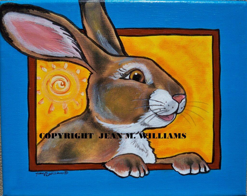 Tuzi williams, rabbit, jackrabbit