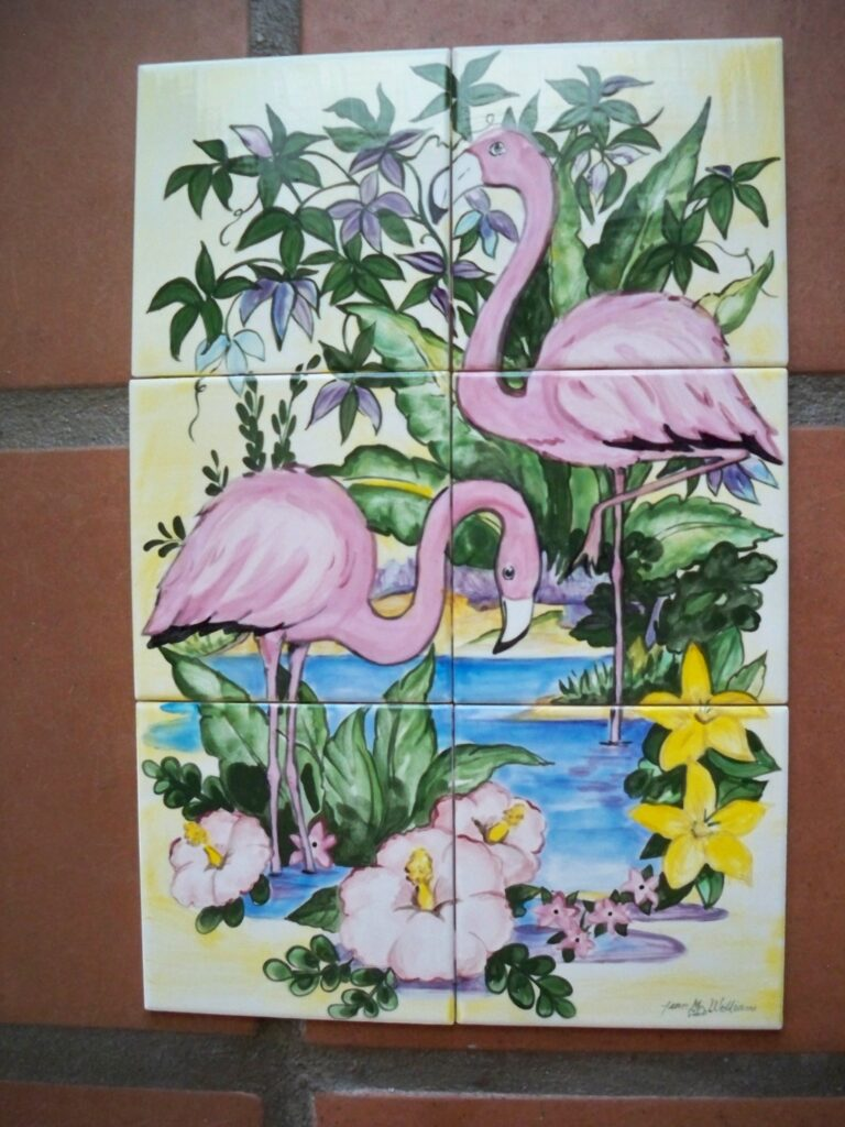 tuzi williams, animal, flamingo, art