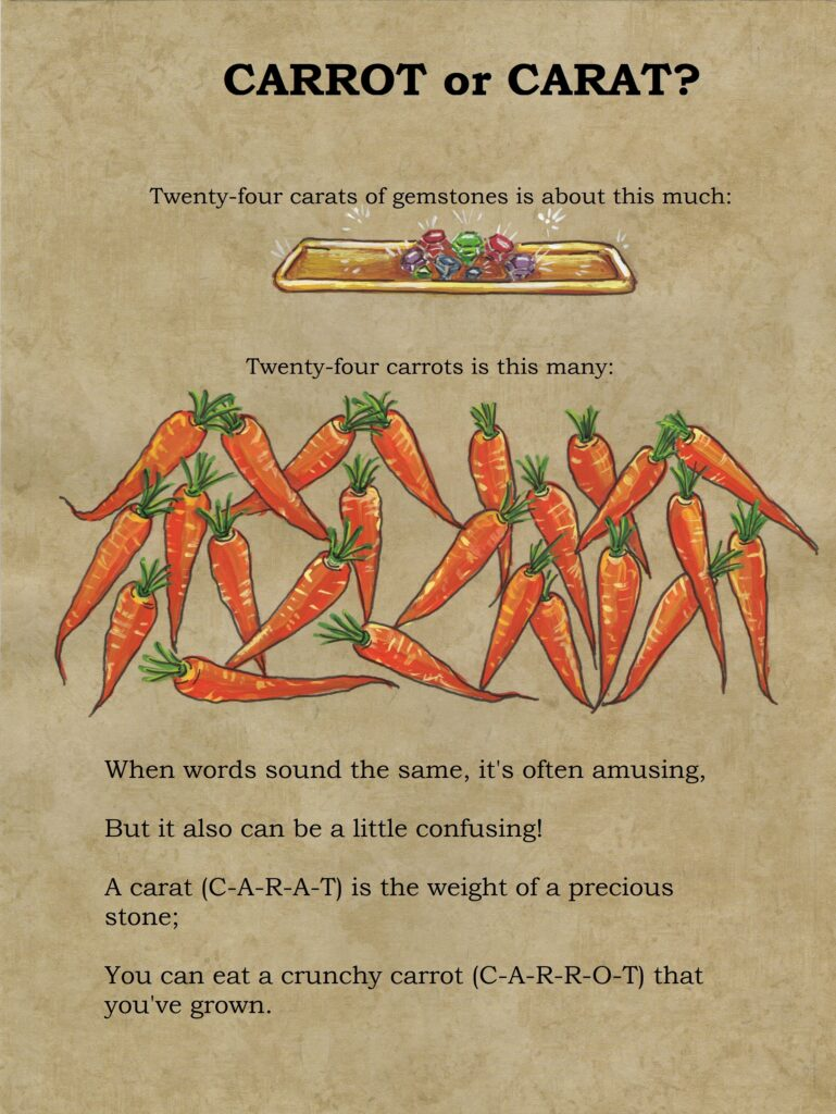 carrot, carat, jewels, treasure, captain jack rabbit, tuzi williams