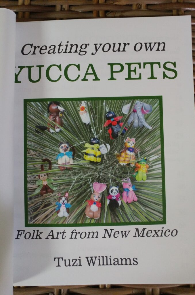 yucca pet book, tuzi williams, new mexico