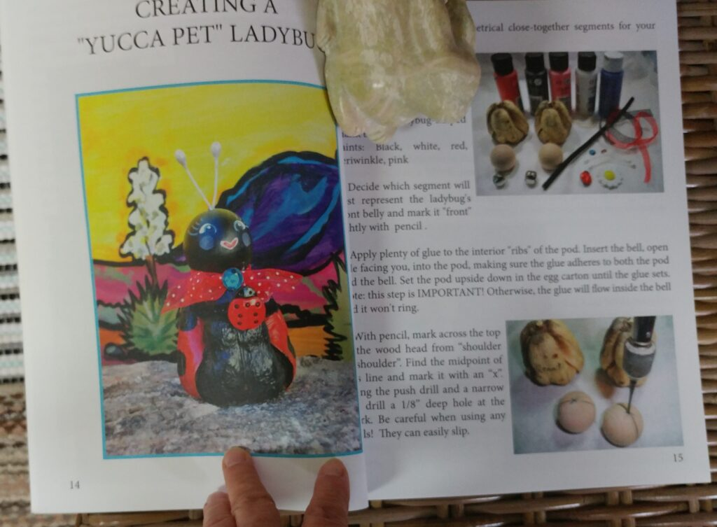 yucca pet book, tuzi williams