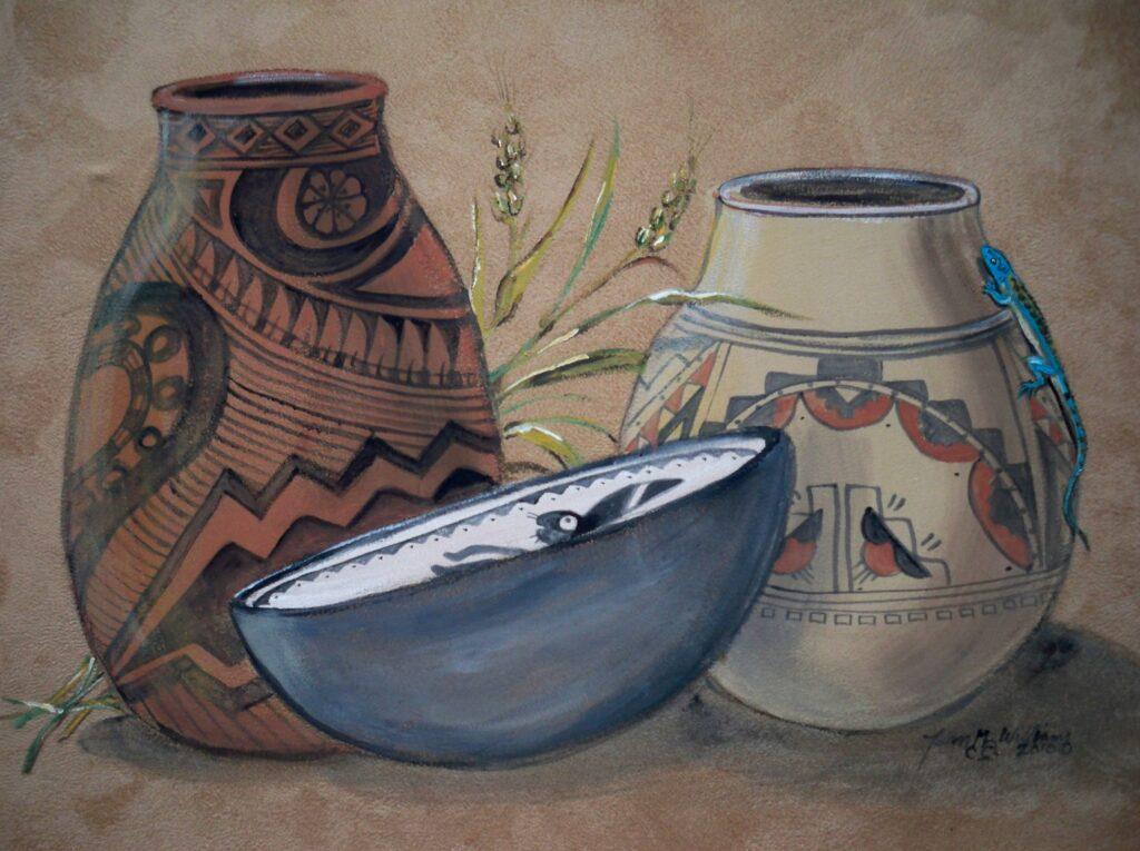 Tuzi williams, southwest, painting