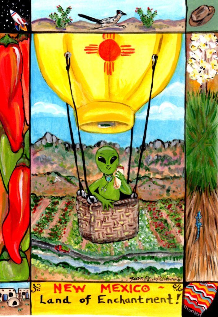 tuzi williams, new mexico, alien, roswell, ufo