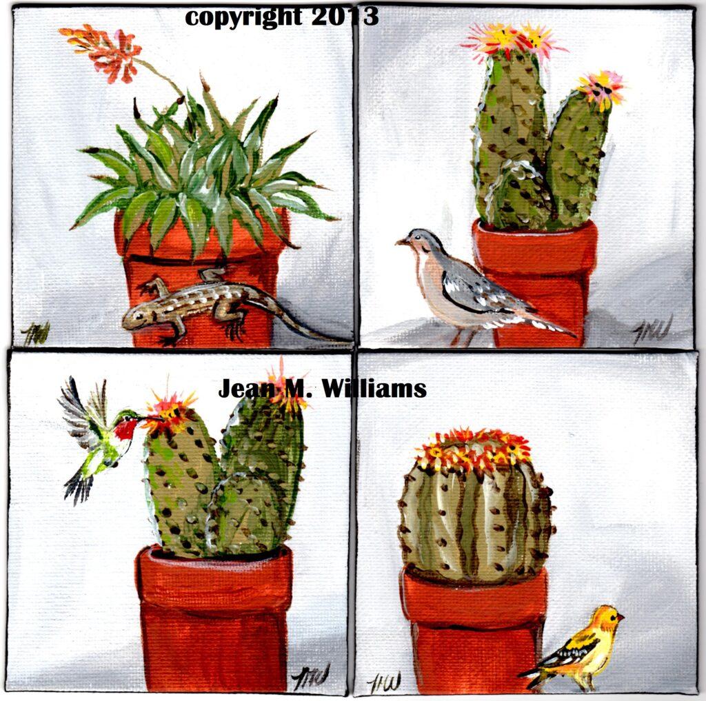 tuzi williams, art, cactus